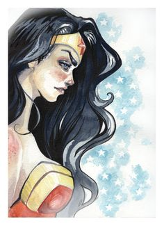My Wonder Woman Painting