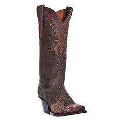 """Dan Post Women's 13"""" Invy Western Boots #danpostfavorites"""