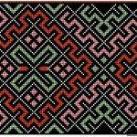 Smøyg Fra Wikipedia Smøyg er en gammel broderiteknikk som går ut på å veve broderitråden opp og ned gjennom stoffet slik at det dannes et geometrisk mønster. Diy Projects To Try, Cross Stitch, Pattern, Handmade, Hardanger, Hand Made, Punto De Cruz, Cross Stitches, Patterns