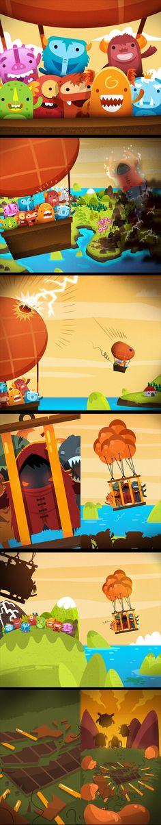 Monster Up Adventures, game, app