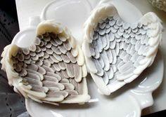 ❥ angel wings soap