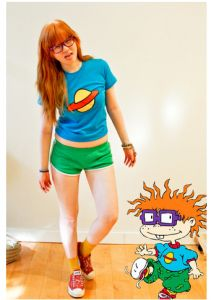 ChuckieFinster rugrats costume 90s