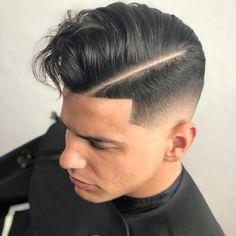 Mittlere Haarschnitte für Männer