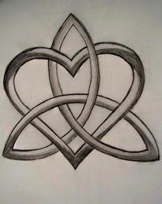 Trinity knot sisters tattoo