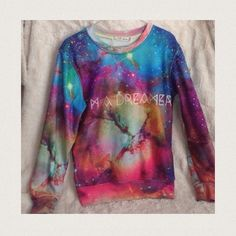 """""""I'm a Dreamer"""" Crewneck """"I'm a dreamer"""" Crewneck in great condition and only worn twice. Sweaters"""