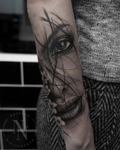 Quarter Sleeve Tattoo Ideas for Men and Women // September 2019 - Realistic . - Quarter Sleeve Tattoo Ideas for Men and Women // September 2019 – realistic tattoo by - Realistic Tattoo Sleeve, Fake Tattoo Sleeves, Face Tattoos For Women, Sleeve Tattoos For Women, Tattoo Women, Quarter Sleeve Tattoos, Arm Sleeve Tattoos, Neck Tattoos, Tattos