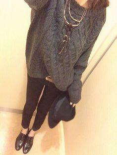 GUのニット・セーターを使ったharuka ˙ᴥ˙のコーディネートです。WEARはモデル・俳優・ショップスタッフなどの着こなしをチェックできるファッションコーディネートサイトです。