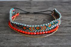 ElsaMuse: DIY bandeau pour cheveux avec bracelet brésilien + chaîne doré + strass