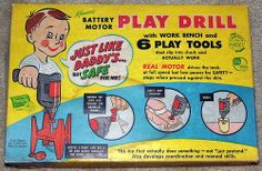 "Kenner ""Play Drill"" tool set"