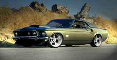 '69 Boss 429 Mustang. Check out Facebook and Instagram: @metalroadstudio Very cool!