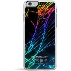 Forever 21 Zero Gravity Cracked Out iPhone 6 Case ($24) ❤ liked on Polyvore featuring accessories, tech accessories, phone cases, phone, tech, electronics and forever 21