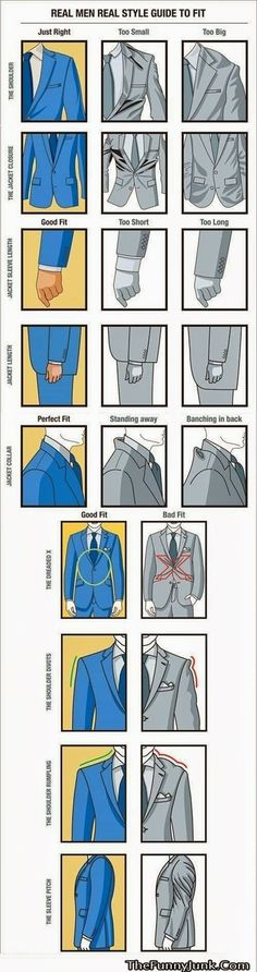 Do your jackets fit properly?