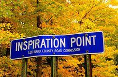 inspiratie; als je op een plek bent en je ineens een idee krijgt waar je bijvoorbeeld iets van wil maken.
