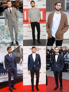 Douglas Booth Outfit Lookbook
