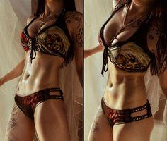 Iron Maiden Bikini? F*ck Yeah! Toxic Vision