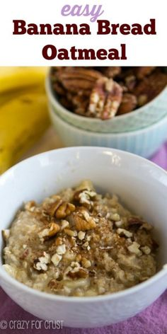 Oatmeal for breakfast? Sure, it is nutritious, but it is not very interesting. Instead, combine the oatmeal with banana bread flavors, and you have a winner, whether you are grabbing a quick bite before work or feeding the kids before school. In addition, it is a handy way to use up those aging bananas turning brown in your fruit bowl! Throw in spices to taste, and you'll never go back to plain oatmeal. Get the eBay recipe for your new favorite breakfast.