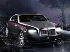 The Rolls-Royce Wraith, which debuted Tuesday at the Geneva motor show, is not just a two-door version of the Ghost.Rolls-Royce wanted this car to stand apart from the Ghost in its lineup and appeal . Rolls Royce Wraith, Auto Rolls Royce, Voiture Rolls Royce, New Rolls Royce, Rolls Royce Motor Cars, Bugatti, Maserati, Ferrari, Bmw