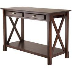 Winsome Xola Console Table, Cappuccino - $153