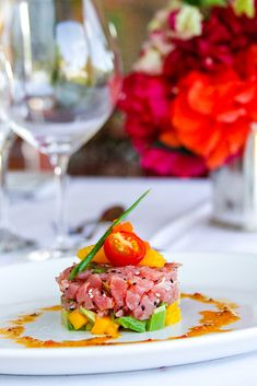 Tuna Tartar on Pinterest | Tuna Poke, Tuna and Salmon Tartare
