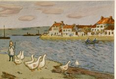 Alfred Sisley (French, 1839-1899). Bords de Riviere ou les Oies, 19th century. The University of Michigan Museum of Art, Michigan. Gift of Ruth W. and Clarence J. Boldt, 2008. http://www.umma.umich.edu