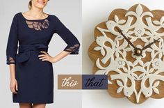 ...wear this Lilly Pulitzer dress, decorate with that Decoylab clock...