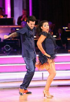 Week 7 Performance Show gallery - Dancing with the Stars - Ally and Mark
