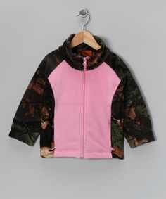 Look at this Trail Crest Pink Camo Jacket - Infant, Toddler