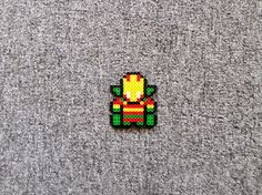 Long Black Fingers : Mister Miracle, Big Barda, Black Bolt Perler Beads...