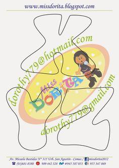 Miss Dorita: Abecedario Grande 3 Felt Name Banner, Name Banners, Felt Templates, Scrapbook Templates, Letter Templates, Bow Template, Book Letters, Handwritten Letters, Paper Piecing Patterns