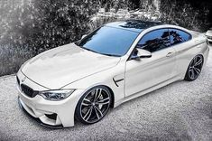 Nice BMW 2017: BMW M4 in White... A Girl Can Dream Check more at http://carsboard.pro/2017/2017/01/23/bmw-2017-bmw-m4-in-white-a-girl-can-dream/