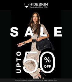 Hidesign presents its FIRST End of Season Sale. Your favourite leather brand offers you a never before chance to grab handpicked styles at u...