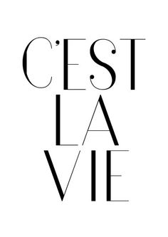 Cest La Vie printable french quote c& la vie french Bedroom Wall Collage, Photo Wall Collage, Bedroom Art, Picture Wall, Mode Poster, Black And White Photo Wall, Dorm Art, Black And White Aesthetic, Fashion Wall Art