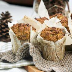 Pumpkin, Zucchini and Quinoa Muffins can sub banana, flour and 3 whole eggs