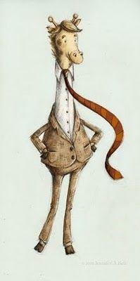 Giraffe - Jennifer A. Bell