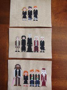 Harry Potter Cross-stitch project on Craftsy.com