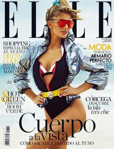 Brejge Heinen on ELLE Spain Magazine May 2016 Cover