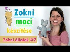 Zokni maci készítése | Zokni állatok | Manó kuckó - YouTube Dinosaur Stuffed Animal, Youtube, Toys, Animals, Activity Toys, Animales, Animaux, Clearance Toys, Animal