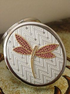 Mirror Steel Handbag Compact Mirror- Birthday Wedding Occasion Gift