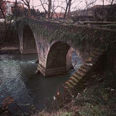 Puente sobre el rio Ibaizabal #galdakaon