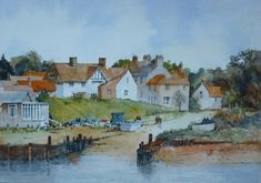 Walberwick Slipway-painting by Malcolm Coils on ARTwanted