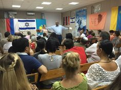 Teaching in a Messianic Congregation the city of Rostov on Don, Russia #2 - 9.6.15