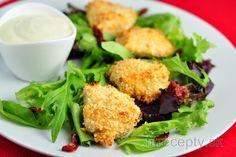 Fit kuracie nugetky v jogurtovej kruste Tofu, Potato Salad, Food And Drink, Potatoes, Gluten Free, Meat, Chicken, Ethnic Recipes, Fitness