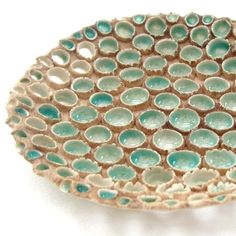 6/4 ABSTRACT - Porcelain and Glass Dish - Seawater, by seaurchin porcelain, £90
