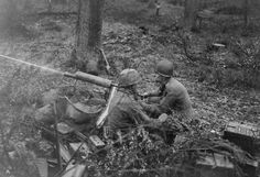 OCT 25 1944 One Day in a Very Long War Men of 2nd Platoon, D Company, 39th Infantry Regiment in action during the Battle of the Hurtgen Forest