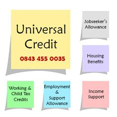 Claiming Universal Credit http://www.contactuniversalcredit.co.uk/