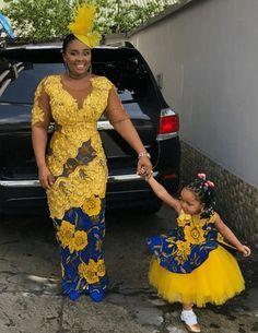 African Dresses For Kids, African Wear Dresses, African Fashion Ankara, Latest African Fashion Dresses, Dresses Kids Girl, African Print Fashion, African Prints, African Outfits, African Clothes