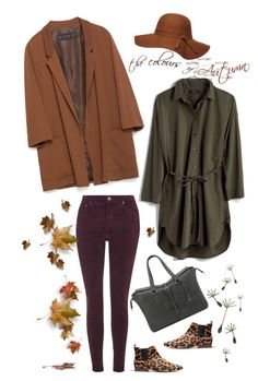"""""""The colors & textures of Autumn:)"""" by musicfriend1 ❤ liked on Polyvore featuring Madewell, Topshop, Zara, Mulberry and Dorothy Perkins"""