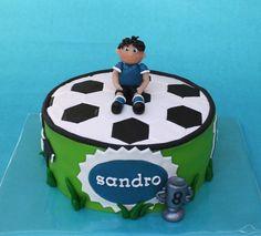 soccercake for Sandro — Children's Birthday Cakes