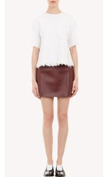 T by Alexander Wang Frayed Swing Top