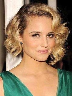 Peinados pelo corto Navidad 2014: fotos de los looks - Pelo corto con ondas